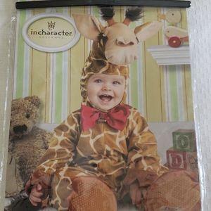 NWT Cuddly Giraffe baby costume
